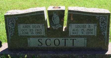 SCOTT, LOUISE B. - Baxter County, Arkansas | LOUISE B. SCOTT - Arkansas Gravestone Photos
