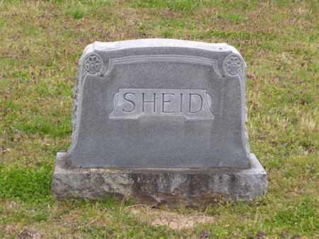 SHEID FAMILY STONE,  - Baxter County, Arkansas    SHEID FAMILY STONE - Arkansas Gravestone Photos
