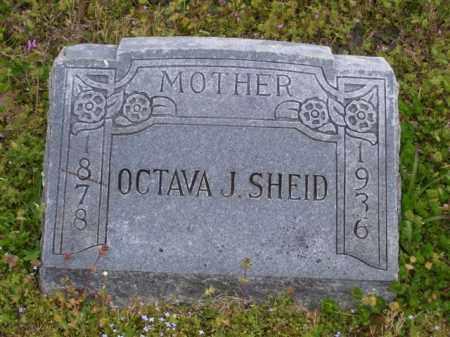 SHEID, OCTAVA J. - Baxter County, Arkansas | OCTAVA J. SHEID - Arkansas Gravestone Photos