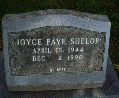 SHELOR, JOYCE FAYE - Baxter County, Arkansas | JOYCE FAYE SHELOR - Arkansas Gravestone Photos