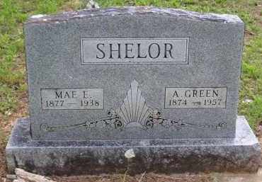 VAUGHN SHELOR, MAE E. - Baxter County, Arkansas | MAE E. VAUGHN SHELOR - Arkansas Gravestone Photos