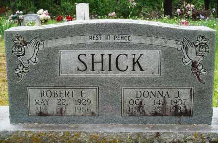 SHICK, DONNA J - Baxter County, Arkansas | DONNA J SHICK - Arkansas Gravestone Photos