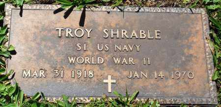 SHRABLE (VETERAN WWII), TROY - Baxter County, Arkansas | TROY SHRABLE (VETERAN WWII) - Arkansas Gravestone Photos