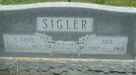 SIGLER, JACK - Baxter County, Arkansas | JACK SIGLER - Arkansas Gravestone Photos
