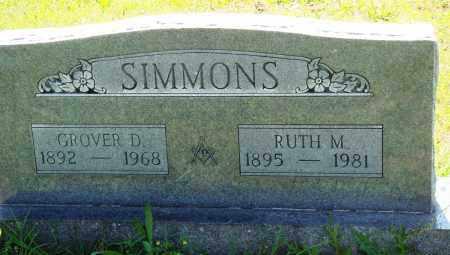 SIMMONS, RUTH M - Baxter County, Arkansas | RUTH M SIMMONS - Arkansas Gravestone Photos