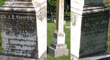 SIMPSON, JEREMIAH BRADY - Baxter County, Arkansas   JEREMIAH BRADY SIMPSON - Arkansas Gravestone Photos
