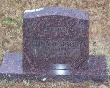 HANEY SINOR, LONA BELL - Baxter County, Arkansas | LONA BELL HANEY SINOR - Arkansas Gravestone Photos