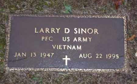 SINOR (VETERAN VIET), LARRY DALE - Baxter County, Arkansas | LARRY DALE SINOR (VETERAN VIET) - Arkansas Gravestone Photos