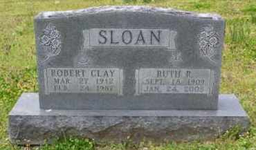 SLOAN, ROBERT CLAY - Baxter County, Arkansas | ROBERT CLAY SLOAN - Arkansas Gravestone Photos