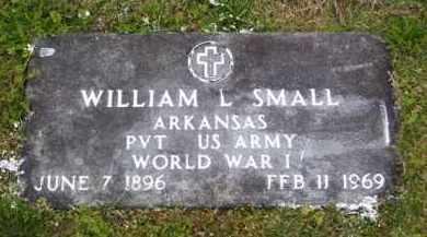 SMALL (VETERAN WWI), WILLIAM LESLIE - Baxter County, Arkansas   WILLIAM LESLIE SMALL (VETERAN WWI) - Arkansas Gravestone Photos