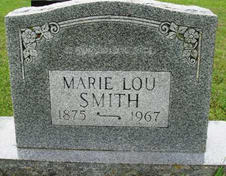 SMITH, MARIE LOU - Baxter County, Arkansas   MARIE LOU SMITH - Arkansas Gravestone Photos