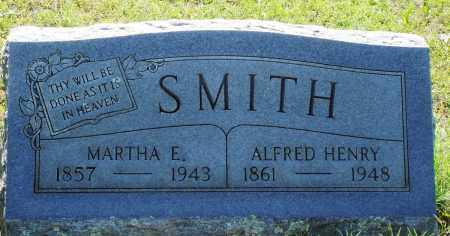 SMITH, ALFRED HENRY - Baxter County, Arkansas | ALFRED HENRY SMITH - Arkansas Gravestone Photos