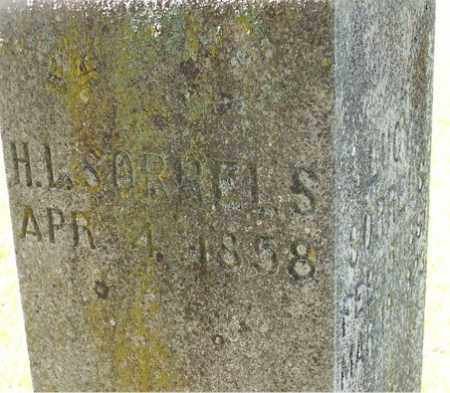 SORRELS, HUGH L. - Baxter County, Arkansas | HUGH L. SORRELS - Arkansas Gravestone Photos