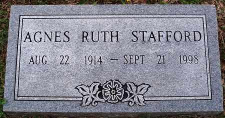 STAFFORD, AGNES RUTH - Baxter County, Arkansas | AGNES RUTH STAFFORD - Arkansas Gravestone Photos