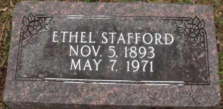 STAFFORD, ETHEL - Baxter County, Arkansas | ETHEL STAFFORD - Arkansas Gravestone Photos