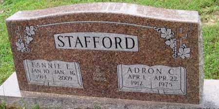 STAFFORD, ADRON C - Baxter County, Arkansas | ADRON C STAFFORD - Arkansas Gravestone Photos