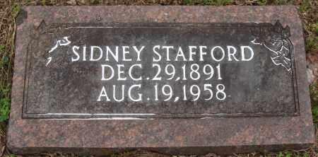 STAFFORD, SIDNEY - Baxter County, Arkansas   SIDNEY STAFFORD - Arkansas Gravestone Photos
