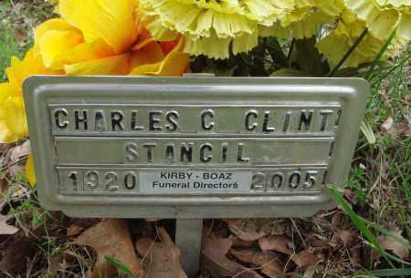 STANCIL, CHARLES C CLINT - Baxter County, Arkansas | CHARLES C CLINT STANCIL - Arkansas Gravestone Photos