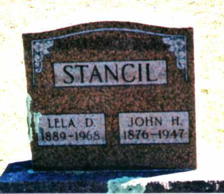 STANCIL, JOHN H. - Baxter County, Arkansas | JOHN H. STANCIL - Arkansas Gravestone Photos