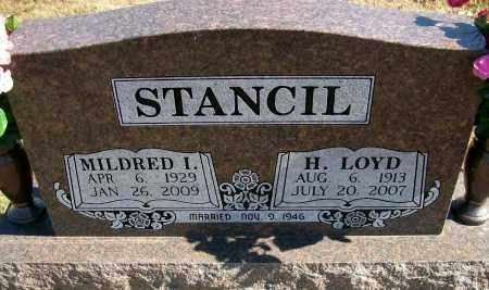 STANCIL, MILDRED I - Baxter County, Arkansas | MILDRED I STANCIL - Arkansas Gravestone Photos