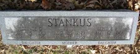 STANKUS, ANNA - Baxter County, Arkansas   ANNA STANKUS - Arkansas Gravestone Photos