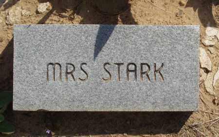 STARK, MRS. - Baxter County, Arkansas | MRS. STARK - Arkansas Gravestone Photos