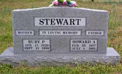 STEWART (2), HOWARD A. - Baxter County, Arkansas | HOWARD A. STEWART (2) - Arkansas Gravestone Photos