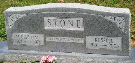 STONE, LOUISE MAE - Baxter County, Arkansas   LOUISE MAE STONE - Arkansas Gravestone Photos