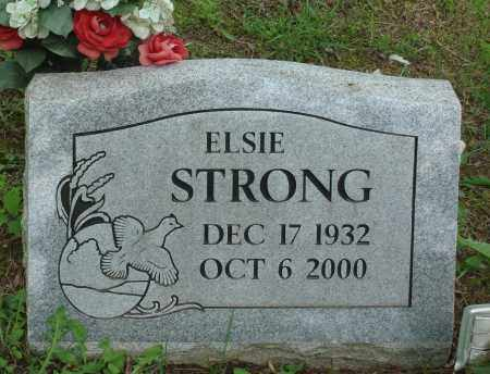 STRONG, ELSIE - Baxter County, Arkansas   ELSIE STRONG - Arkansas Gravestone Photos