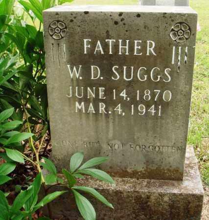 SUGGS, W D - Baxter County, Arkansas | W D SUGGS - Arkansas Gravestone Photos