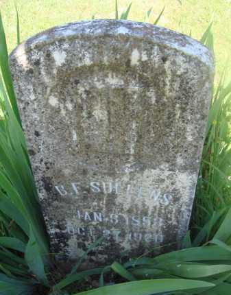 SULLENS, B. F. - Baxter County, Arkansas   B. F. SULLENS - Arkansas Gravestone Photos