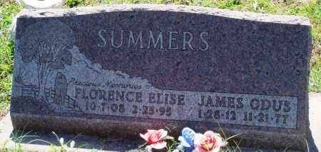 SUMMERS, JAMES ODUS - Baxter County, Arkansas | JAMES ODUS SUMMERS - Arkansas Gravestone Photos