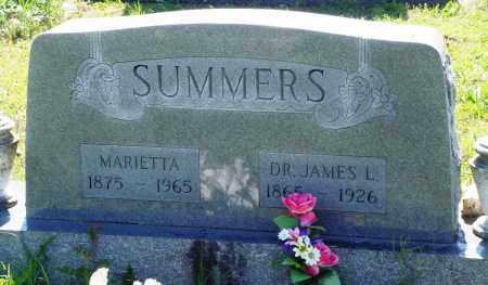 SUMMERS, MARIETTA - Baxter County, Arkansas | MARIETTA SUMMERS - Arkansas Gravestone Photos