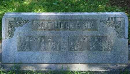 SUTHERLAND, HAZEL M. - Baxter County, Arkansas | HAZEL M. SUTHERLAND - Arkansas Gravestone Photos