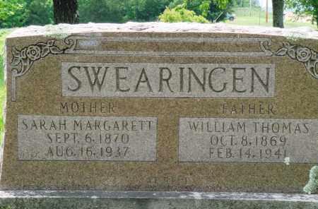 SWEARINGEN, SARAH MARGARETT - Baxter County, Arkansas   SARAH MARGARETT SWEARINGEN - Arkansas Gravestone Photos