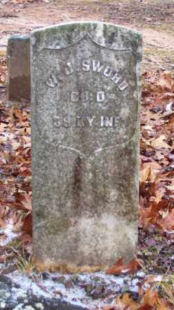 SWORD (VETERAN UNION), W J - Baxter County, Arkansas   W J SWORD (VETERAN UNION) - Arkansas Gravestone Photos