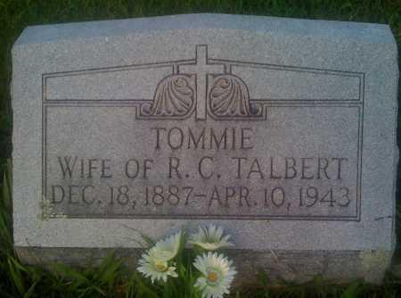 TALBERT, TOMMIE - Baxter County, Arkansas | TOMMIE TALBERT - Arkansas Gravestone Photos