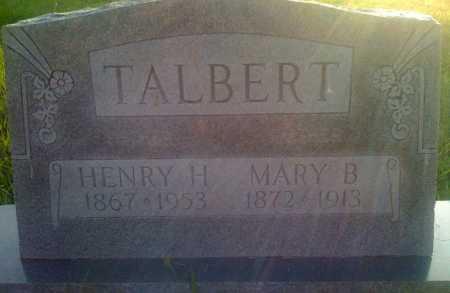 TALBURT, MARY B. - Baxter County, Arkansas | MARY B. TALBURT - Arkansas Gravestone Photos