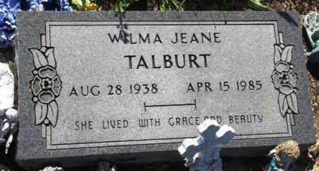 TALBURT, WILMA JEANE - Baxter County, Arkansas | WILMA JEANE TALBURT - Arkansas Gravestone Photos
