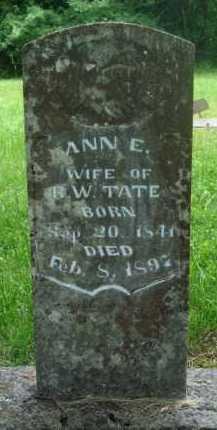 TATE, ANN E. - Baxter County, Arkansas | ANN E. TATE - Arkansas Gravestone Photos
