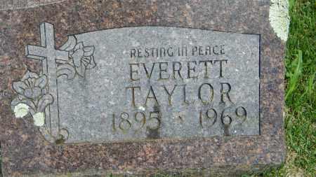 TAYLOR, EVERETT - Baxter County, Arkansas | EVERETT TAYLOR - Arkansas Gravestone Photos