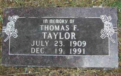 TAYLOR, THOMAS F. - Baxter County, Arkansas | THOMAS F. TAYLOR - Arkansas Gravestone Photos