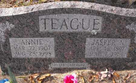 TEAGUE, JASPER N. - Baxter County, Arkansas   JASPER N. TEAGUE - Arkansas Gravestone Photos