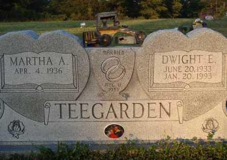 TEEGARDEN, DWIGHT E. - Baxter County, Arkansas | DWIGHT E. TEEGARDEN - Arkansas Gravestone Photos