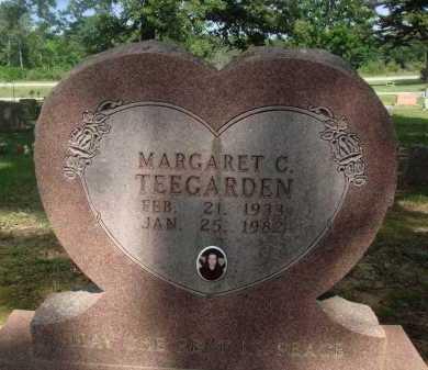 CLARK TEEGARDEN, MARGARET C. - Baxter County, Arkansas | MARGARET C. CLARK TEEGARDEN - Arkansas Gravestone Photos