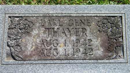 THAYER, DARL GENE - Baxter County, Arkansas   DARL GENE THAYER - Arkansas Gravestone Photos