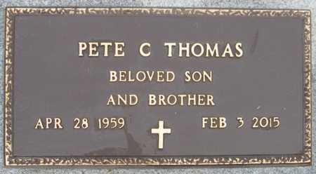 THOMAS, PETE C. - Baxter County, Arkansas | PETE C. THOMAS - Arkansas Gravestone Photos