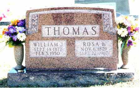 THOMAS, ROSA B. - Baxter County, Arkansas | ROSA B. THOMAS - Arkansas Gravestone Photos