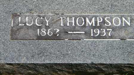 THOMPSON, LUCY - Baxter County, Arkansas | LUCY THOMPSON - Arkansas Gravestone Photos