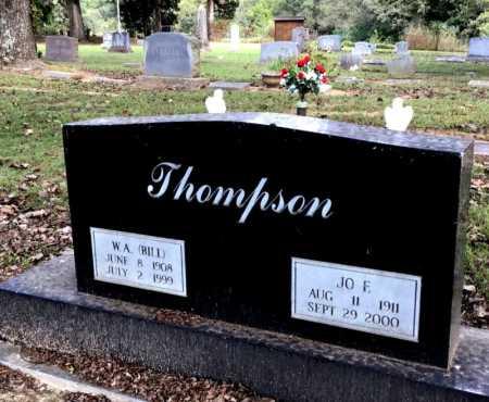 THOMPSON, W. A. (BILL) - Baxter County, Arkansas | W. A. (BILL) THOMPSON - Arkansas Gravestone Photos